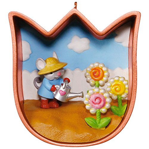 Spring Ornament - Cookie Cutter mouse (Spring Hallmark Ornament)
