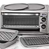 OvenStuff Non-Stick 6-Piece Toaster Oven Baking Pan Set - Non-Stick Baking Pans, Easy to Clean and Perfect for Single Servings