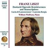 Donizetti Operatic Reminiscences & Transcription
