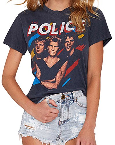 Darceil Womens Short Sleeve Police