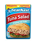 tuna fish sauce - StarKist Ready-to-Eat Tuna Salad, Original Deli Style, 3 Ounce Pouches (Pack of 24)