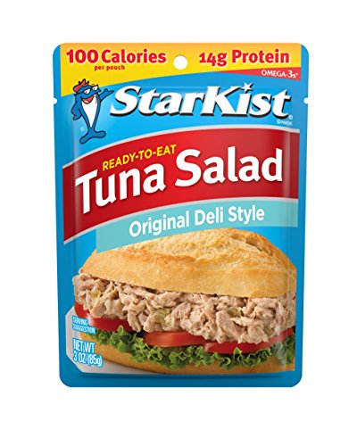 StarKist Ready-to-Eat Tuna Salad, Original Deli Style, 3 Ounce Pouches (Pack of 24)