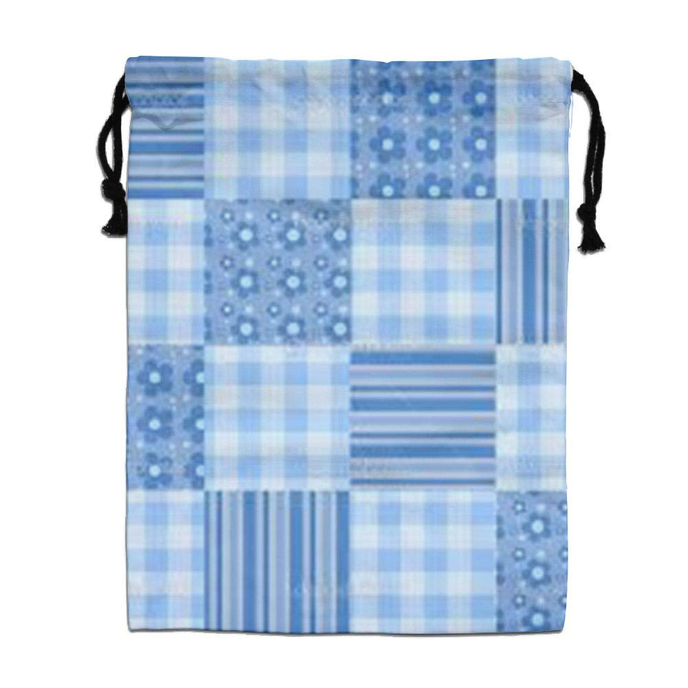 CMTRFJ Personalized Drawstring Bag-Stripe Holiday/Party/Christmas Tote Bag