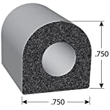 Trim-Lok D-Shaped Rubber Seal