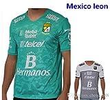 1 Pieza de 2016 2017 hombres adultos tercera Camisa Manga Corta Camiseta Camiseta Kit Maillot Ligue 16-17 México Club Leon hogar fuera un jersey de fútbol