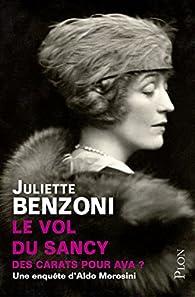 Le vol du Sancy par Juliette Benzoni