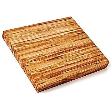 Brotzeitplatte Schneidebrett Küchenbrett Holzbrett Brett Olivenholz Holz XL
