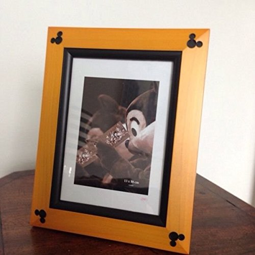 Mickey Mouse Ear Beveled 4x6 Photo Frame (Disney Picture Frames 4x6)