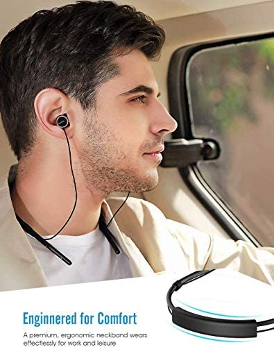 2020 Discount Cowin HE6 Bluetooth Headphones, Wireless Headphones with Bluetooth 5.0, IPX5 Waterproof,Lightweight Neckband,Built in Microphone,Richer Bass,HD Sound,Stereo Call,10H Playtime  L84Udx7