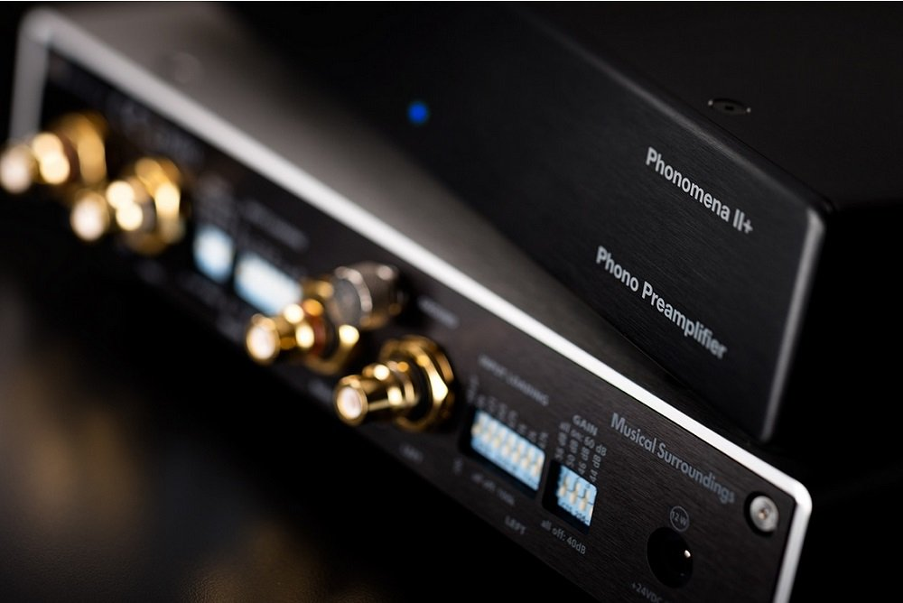 Musical Surroundings Phonomena II+ Phono Preamplifier in Black by Musical Surroundings
