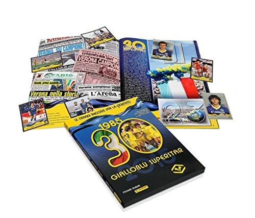 Navy//Giallo Hellas Verona FC HVR42 Album Panini Giovent/ù Unisex Taglia Unica