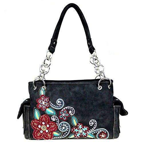 mw434g-8085-montana-west-floral-collection-concealed-carry-handgun-satchel-handbag-black