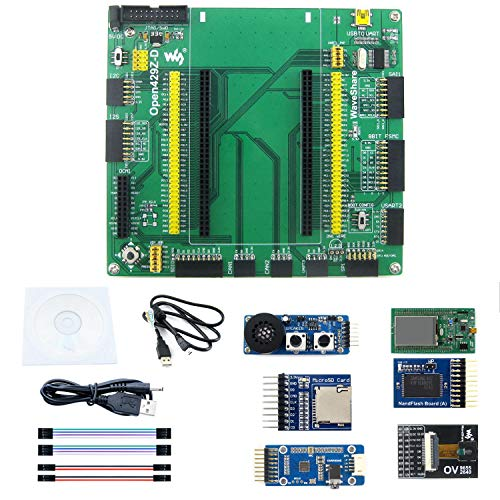 pzsmocn STM32F4 Development Board STM32F429ZIT6 MCU Microcontroller Onboard,Open429Z-D Cortex-M4,Rich Interface,Which is Conducive to Expansion,Connect to Any Custom Module Collocation at Will.