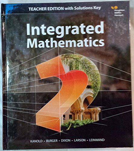 Hmh Integrated Math 2: With Solutions 2015
