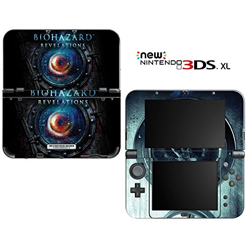 Resident Evil Revelations Decorative Video Game Decal Cover Skin Protector for New Nintendo 3DS XL (2015 Edition)