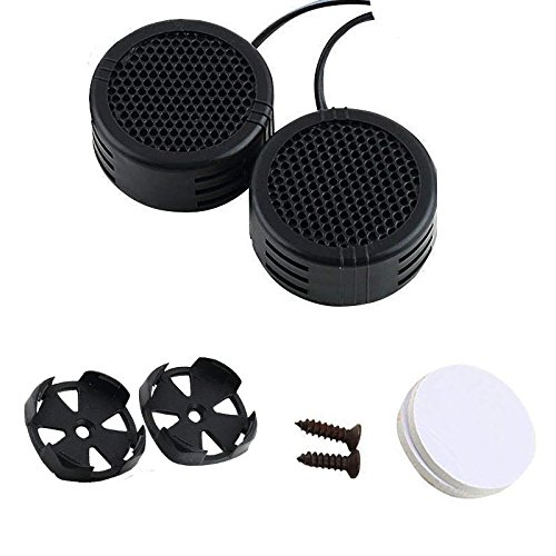 Power Dome Super Loud (iuuhome 2 x 500 Watts Super Power Loud Dome Tweeter Speakers for Car 500W)
