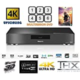 Panasonic MULTIREGION DMP-BDT700 High End 4K 60P -3D BLU-RAY Player with MULTIREGION DVD PLAYER - 2HDMI -7.1 CH etc-  INCLUDES TITANIC or Replacement title