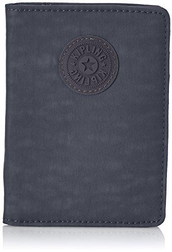 Kipling PASS PORT Passport Wallet, 14 cm, 0.01 liters, Blue (True Navy)