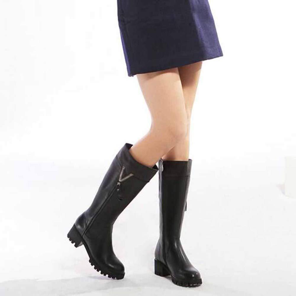 Damen Damen Martin Stiefel Winter Warm Pelz Gefüttert Gefüttert Pelz Ankle High Roller Stiefel Work Utility Schuhe 1b74d6