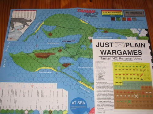 PRP: Taman '42, Rumanian Victory, Board Game by PRP Pacific Rim Publikationen