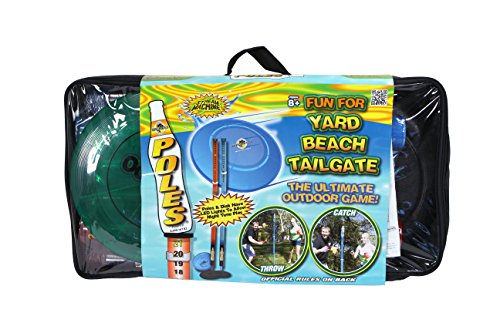 - Water Sports Deluxe Poles Game with Disc and Poles