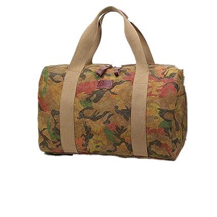 779126ddbdef Amazon.com: Ybriefbag Unisex Canvas Travel Bag Camouflage Casual ...