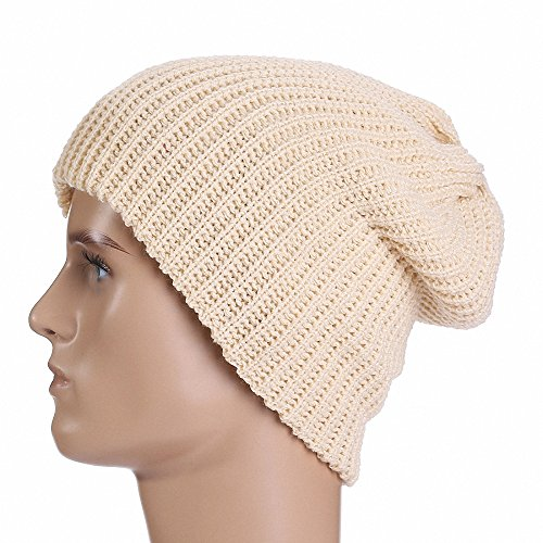 (Maoko Unisex Slouch & Comfort Daily Beanie Warm, Skull Knit Cap Hats )