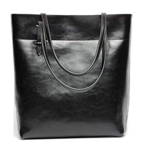 Covelin Women's Handbag Genuine Leather Tote Shoulder Bags Soft Hot ()