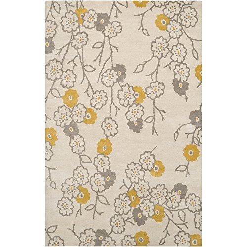 Surya GRA9943 Gramercy Transitional Hand Tufted 100% Wool Gray Rug (2-Feet x 3-Feet)