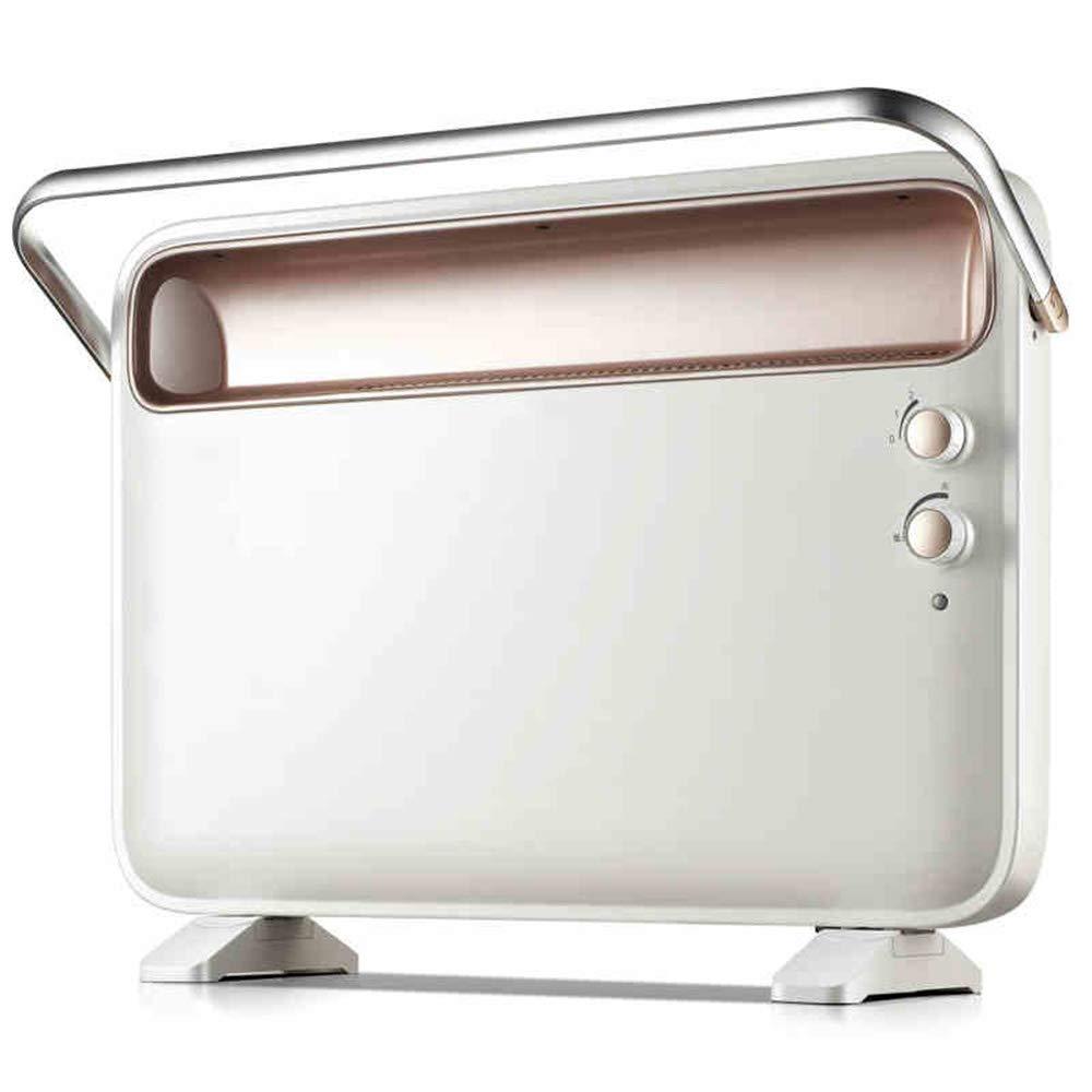 Acquisto GYZ Riscaldatore Home Risparmio energetico Potenza Riscaldamento velocità Hot European Fast Heat Furnace Bath Riscaldatore Elettrico a Doppio Uso Riscaldatore Verticale – Bianco 2000W Prezzi offerte