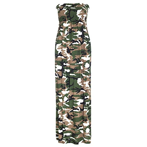 Robe M camouflage amp;M's Robe Maxi Femme rwC5wUq