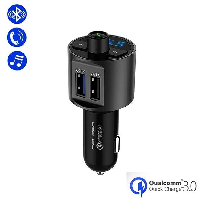 Zyx Bluetooth Cargador De Coche Manos Libres Reproductor De ...