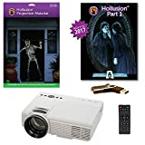 AtmosFearFX Hollusion 1 Compilation Video - 800 x 480 Resolution Projector Kit on USB with Hollusion Screen (lg). Includes Effects from Bone Chillers, Ghostly Apparitions, Macabre Manor and Phantasms