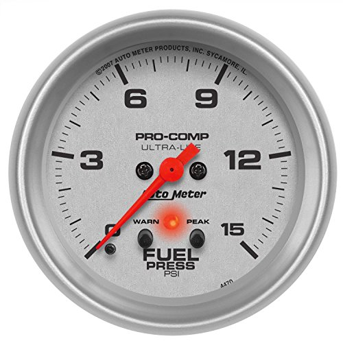 Auto Meter 4470 Ultra-Lite Electric Fuel Pressure Gauge