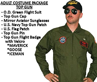 b9c8eb1fb9d Amazon.com  Top Gun Halloween Costume (4XL - GOOSE)  Clothing