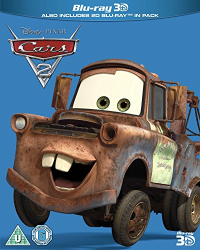Cars 2 [Blu-ray 3D] [Limited Edition]