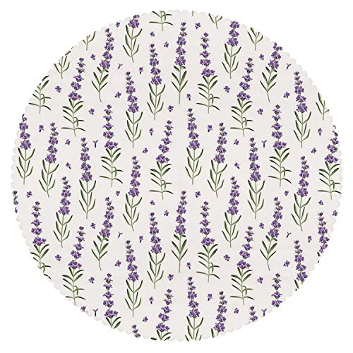 iPrint American Round Tablecloth  Fabric Home Set
