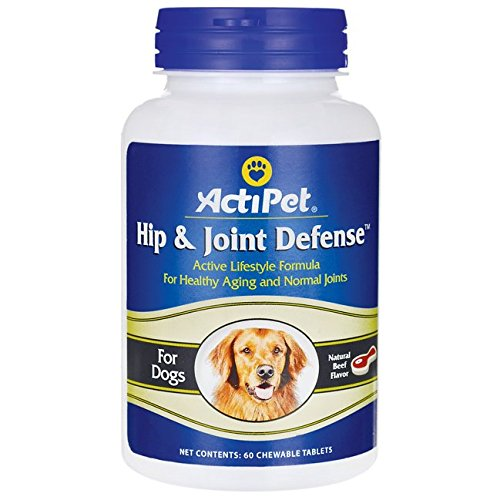 Hip & Joint Defense For Dogs ActiPet 60 Tabs