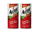 Accent Flavor Enhancer Shaker - 4.5 Oz. Each - 2 Pack