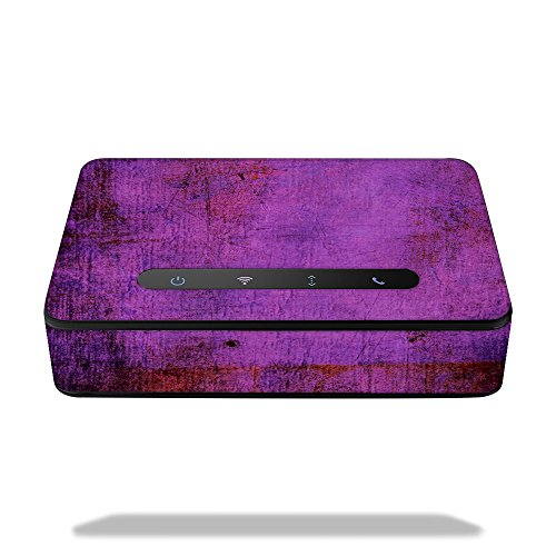 MightySkins Skin for Amazon Echo Connect - Purple Sky | Protective, Durable, and Unique Vinyl Decal wrap Cover | Easy to Apply, Remove, and Change Styles | Made in The USA