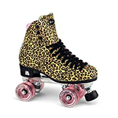 Moxi Jungle Roller Skate              The popular Moxi Jungle is back with improved function and increased comfort, all at a more affordable price. Featuring a classic leopard print high top boot that signals fashion on wheels...