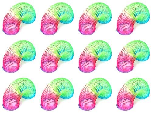 Set of 12 VT Glitter Magic Spring Children's Kid's Toy Novelty Springs