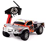 DAZHONG Wltoys Rc Car Truck,High 32MPH Speed 1:18 Scale 2.4G 4WD RTR Off-Road Racing Rometo Control Car with Anti - vibration System and Built- in Li-Po Battery,US Plug