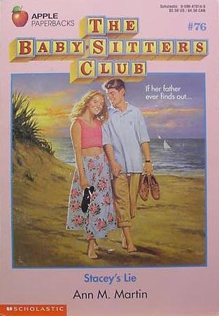 Stacey's Lie (Baby-Sitters Club, 76)