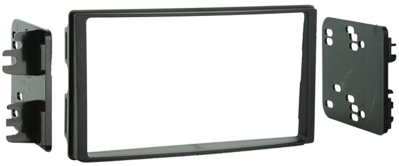 Metra 95-7329 Double DIN Installation Kit for 2007-Up Kia Rondo Vehicles (Black) Metra Electronics Corporation