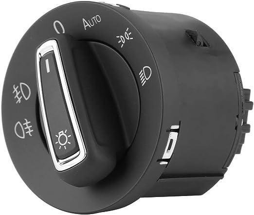 Keenso Auto Scheinwerferschalter Auto Scheinwerferschalter Mit Nebelscheinwerfersteuerung Scheinwerfer Sensormodul Speziell Für Mk7 2013 2018 Auto