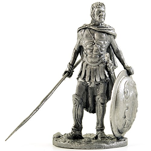 Greece. Odysseus King of Ithaca. Metal sculpture. Collection 54mm (scale 1/32) miniature figurine. Tin toy soldiers ()