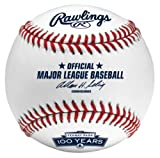 MLB Boston Red Sox Rawlings Baseball with Fenway Park 100th Anniversary Logo with Retail Cube