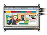 7inch HDMI LCD (C), 1024×600, IPS,Capacitive Touch Screen LCD,HDMI interface,Supports Raspberry Pi,Supports Banana Pi / Banana Pro,Supports BB Black