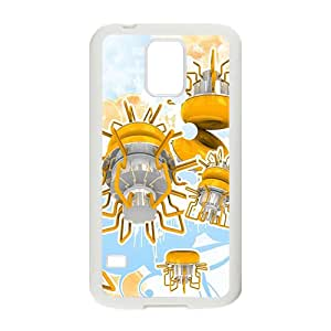 SKULL Creative Cartoon Launcher Custom Protective Hard Phone Cae For Samsung Galaxy S5